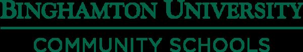 Binghamton University Community Schools logo